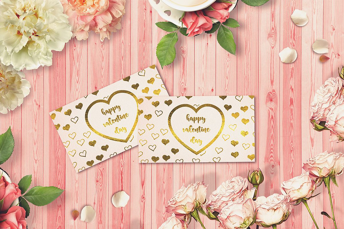 Valentine Card Mock-up #36 example image 1