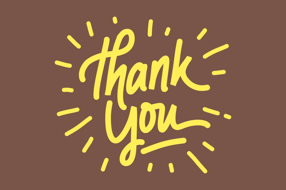 thank you card lettering by letterstuff design bundles