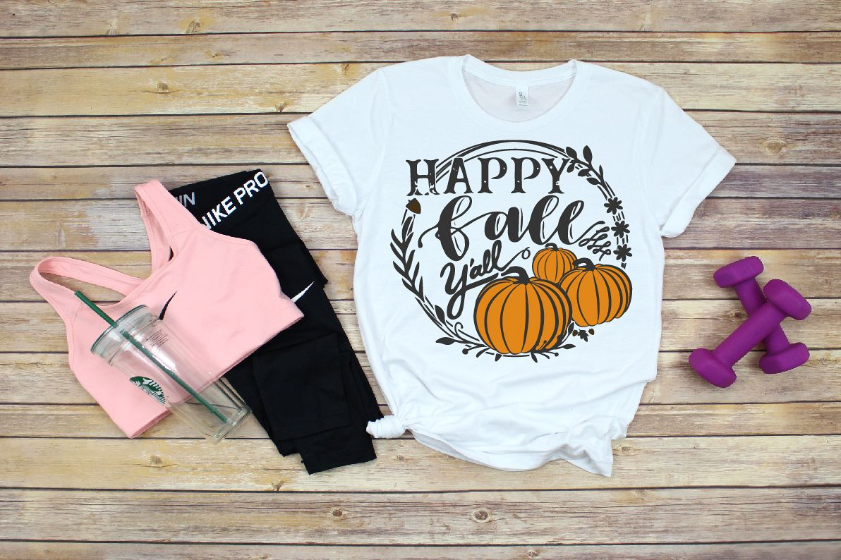 Fall svg, Happy Fall svg, Halloween svg, thanksgiving svg example image 1