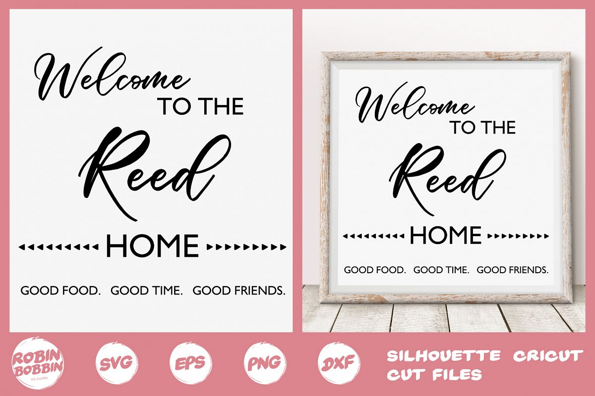 Family SVG, Newlyweds SVG, Welcome svg, Family Printable example image 1