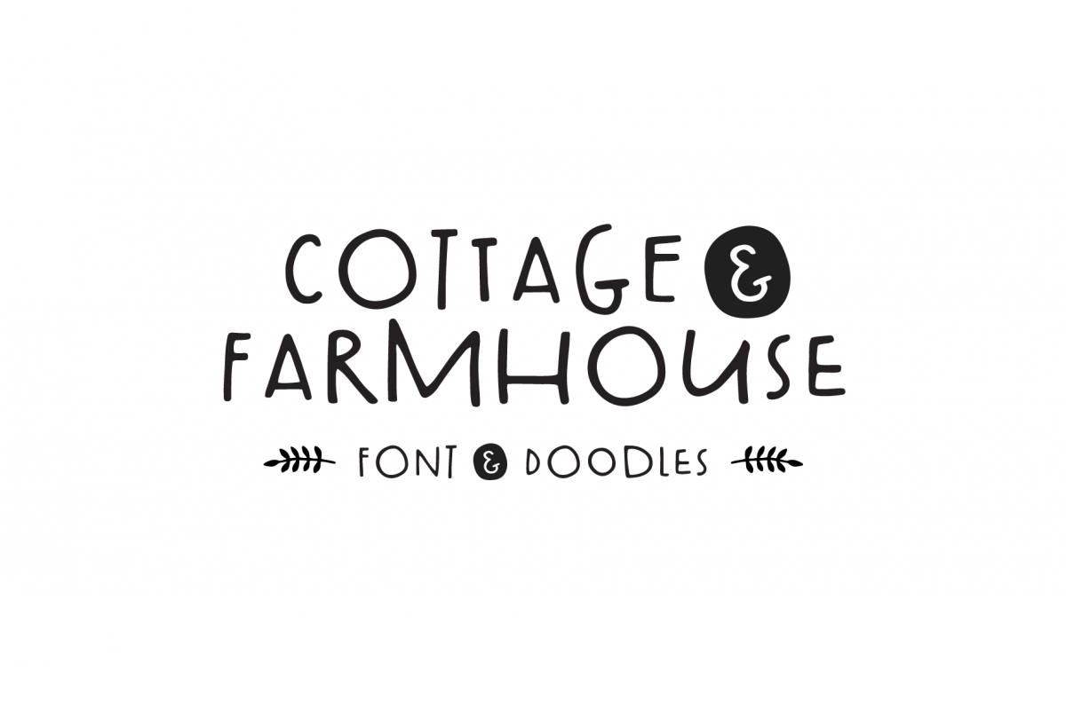 Cottage & Farmhouse Font example image 1