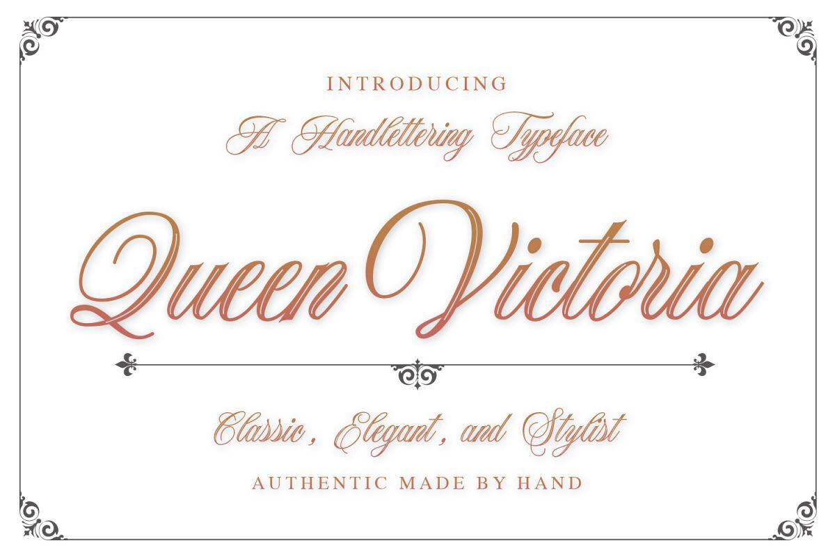 Queen Victoria example image 1