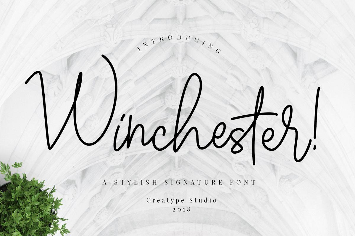 Winchester Signature Script example image 1