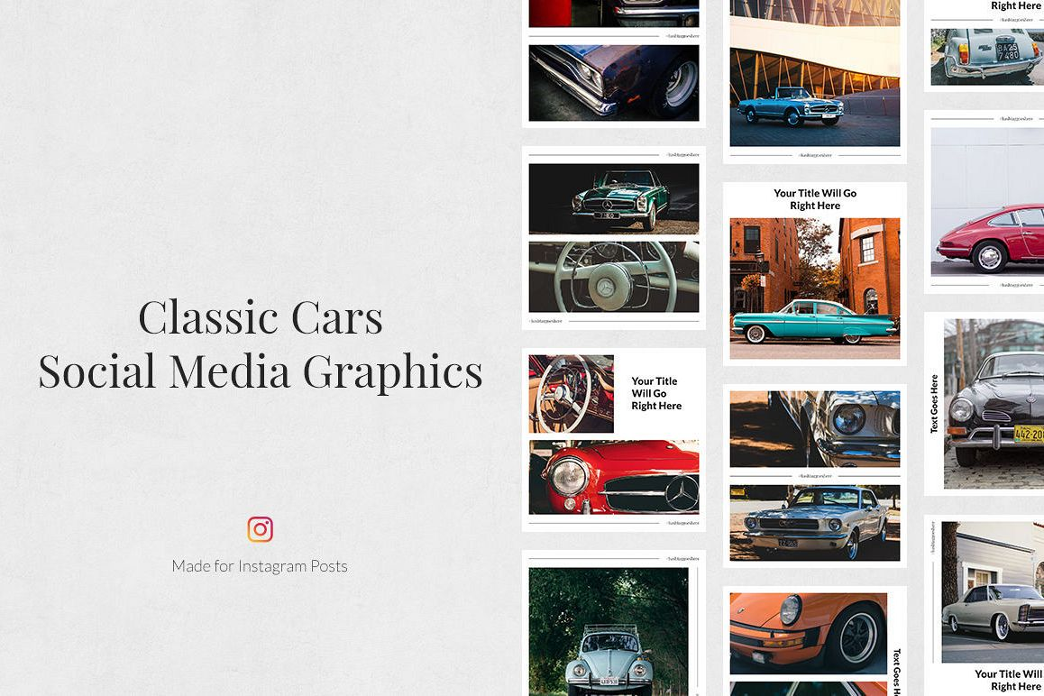Classic Cars Instagram Posts example image 1