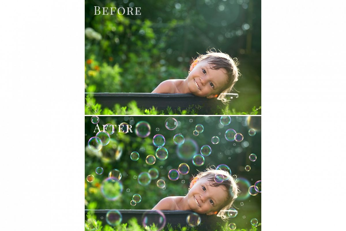 Give Me Bath - bubbles overlays example image 1