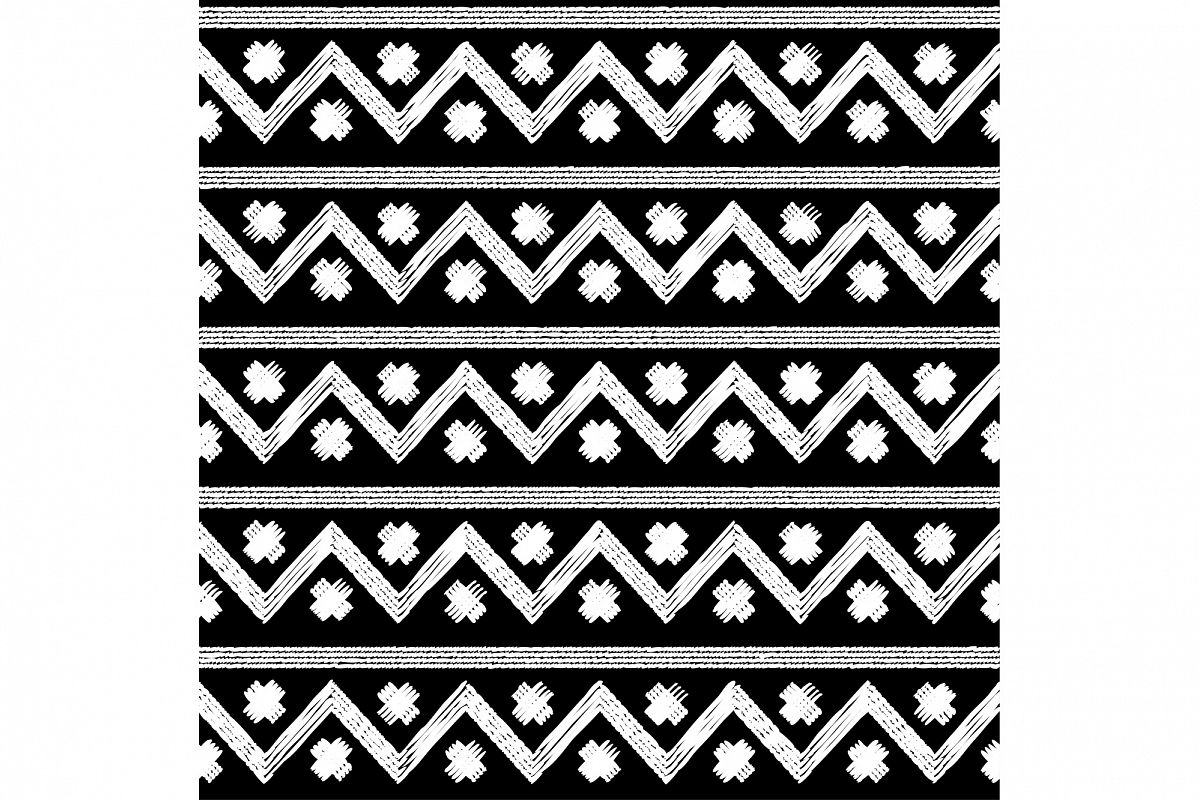 Ethnic boho seamless pattern. Print. Repeating background. Cloth design, wallpaper. 1 of the jpeg file in resolution 4167*4167px and 1 file eps8 1000*1000px. example image 1