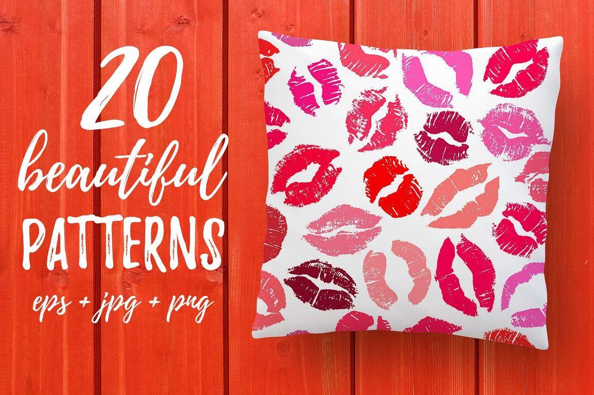 20 Lipstick Patterns example image 1