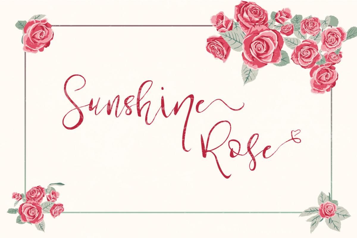 Sunshine Rose example image 1