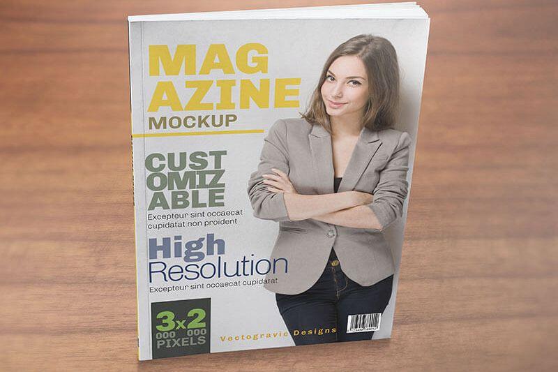 MAGAZINE MOCKUPS example image 1