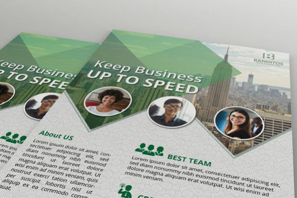 Modern Business Flyer example image 1