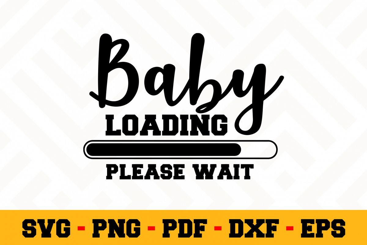 Pregnant SVG Design n544 | Pregnant SVG Cut File example image 1