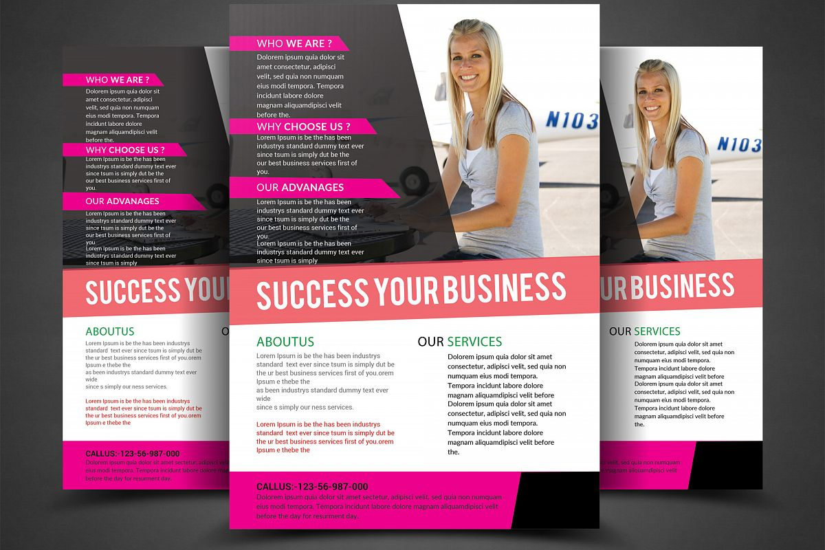 Business Template example image 1
