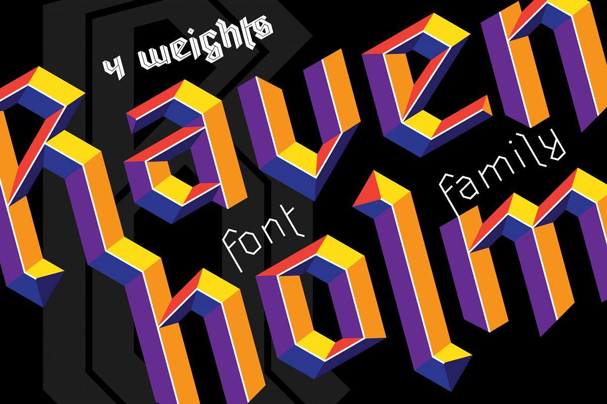 Ravenholm family example image 1