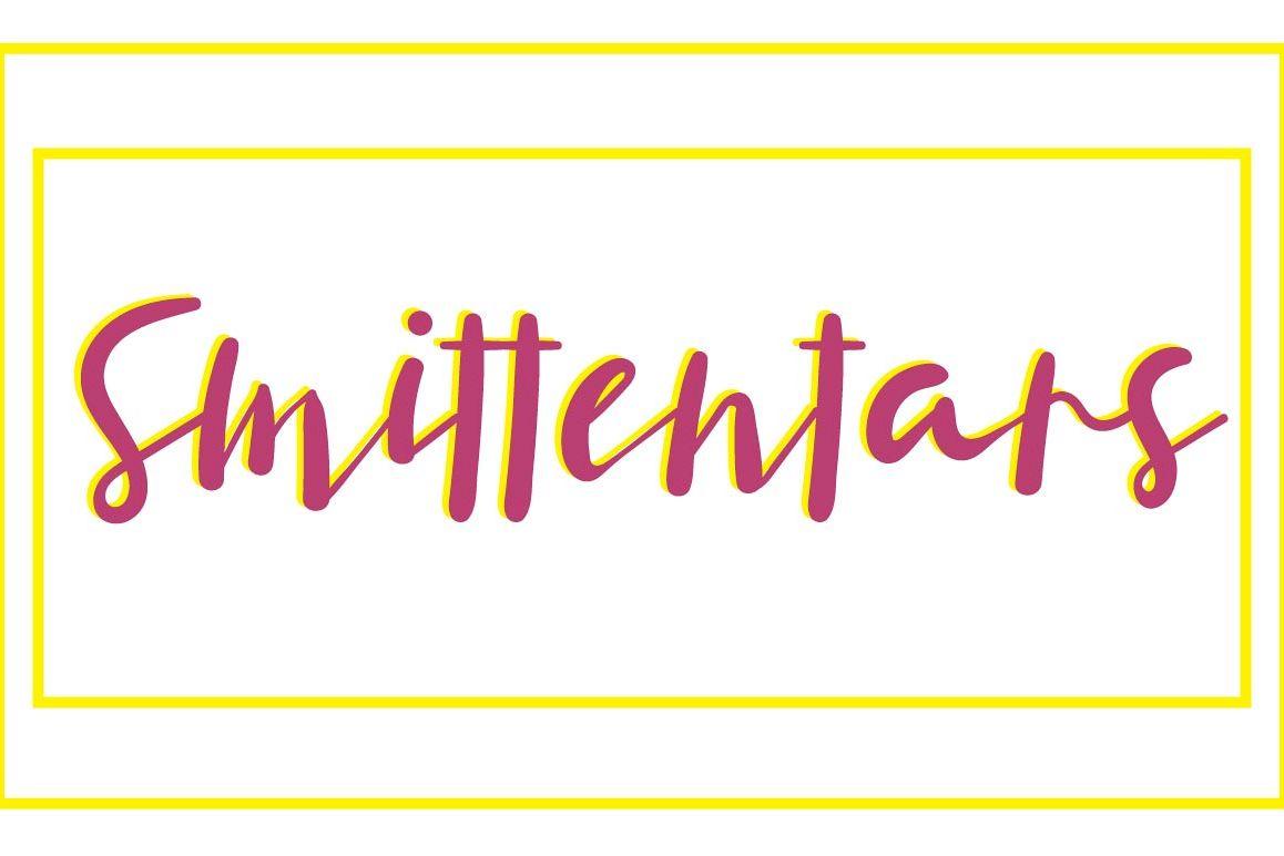 Smittentars Script Font example image 1