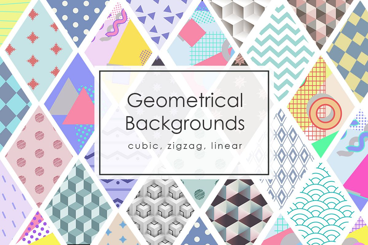 42 Geomertic Backgrounds example image 1