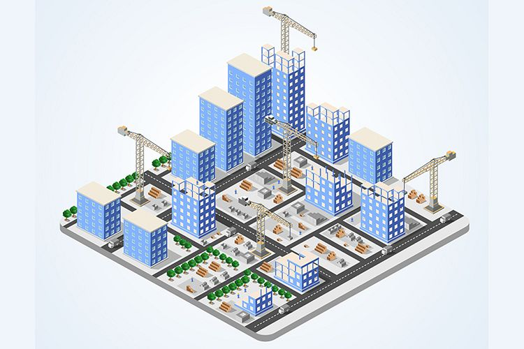 Crane construction industry example image 1