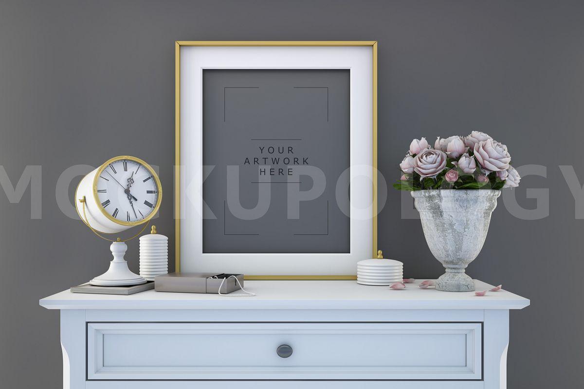 styled stock photography 8x10 frame m design bundles