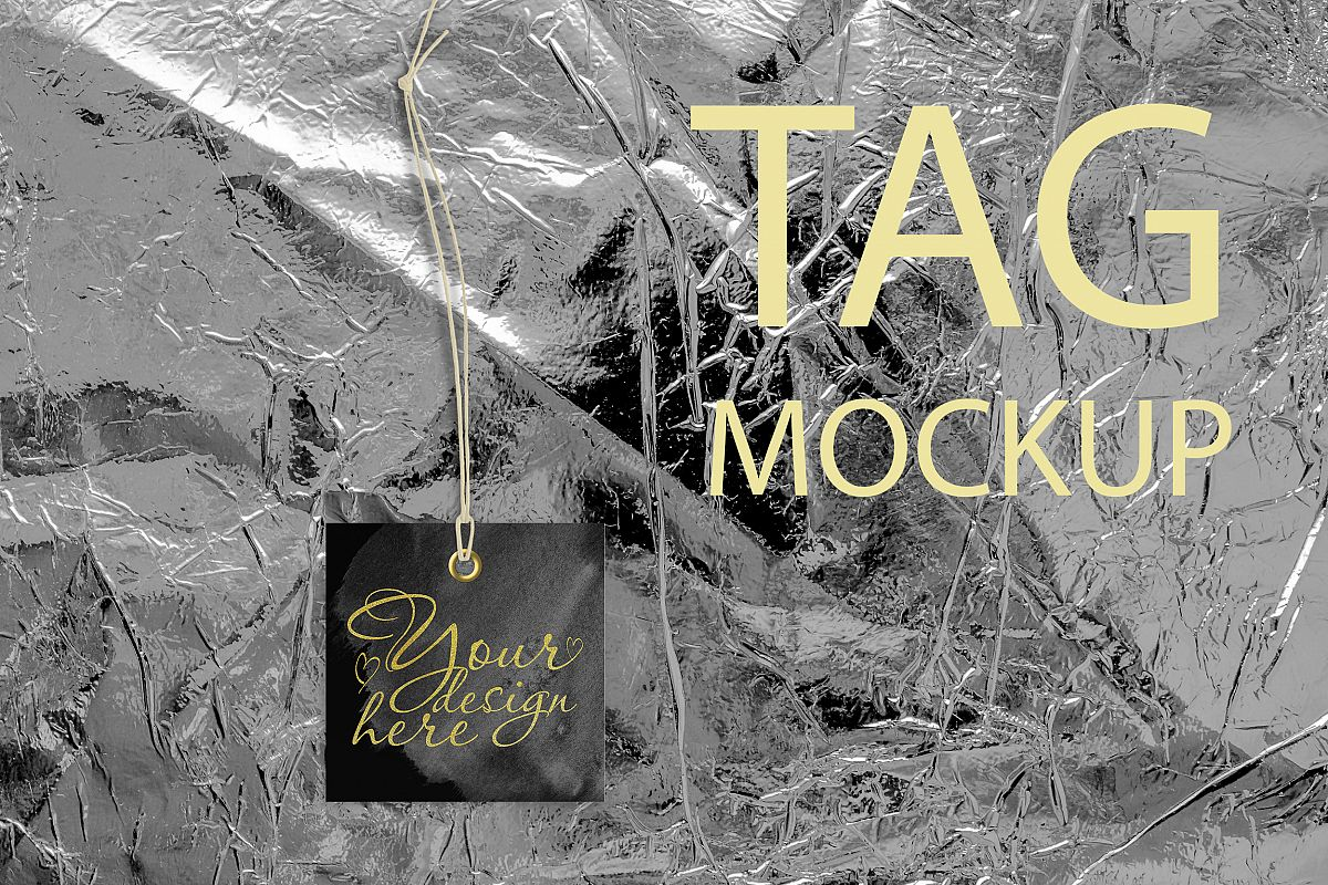 Label tag mockup example image 1