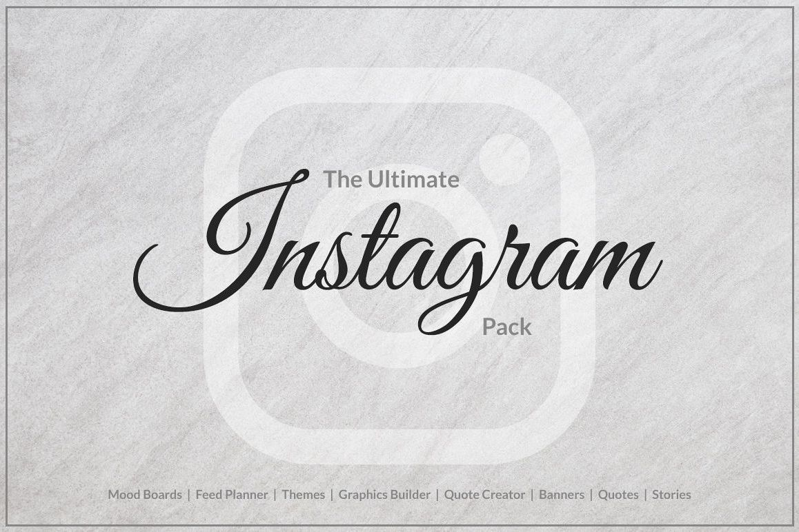 The Ultimate Instagram Pack example image 1