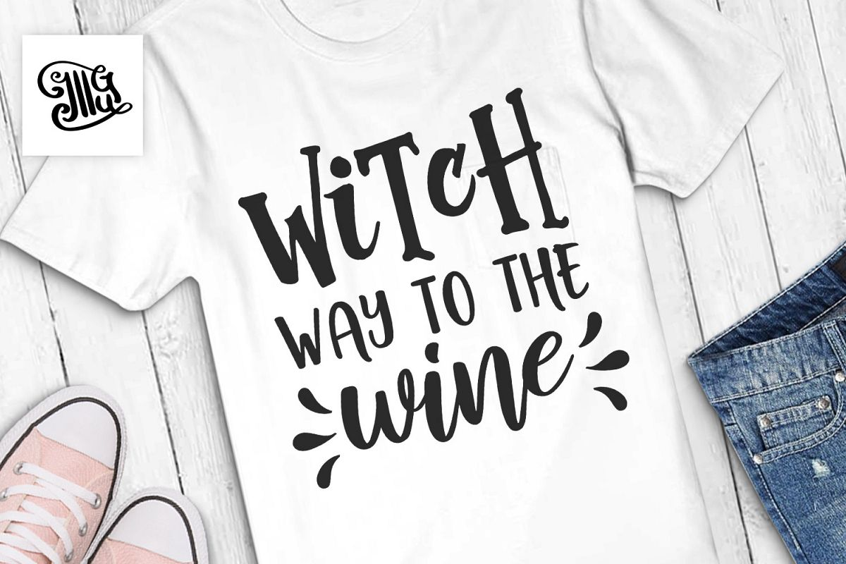 Witch way to the wine example image 1