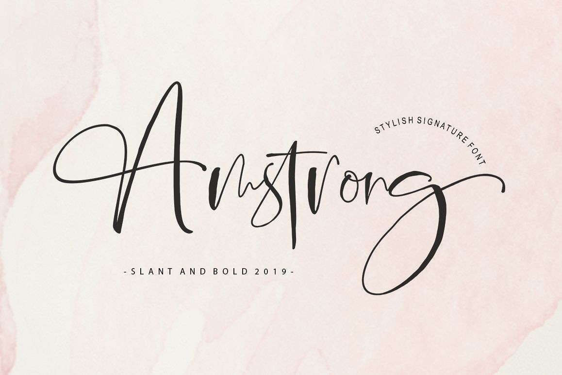 Amstrong Signature Script example image 1