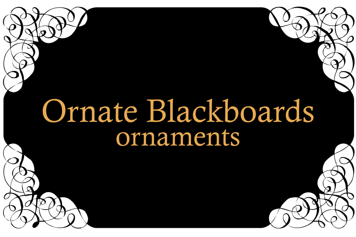 Ornate Blackboards Two example image 1