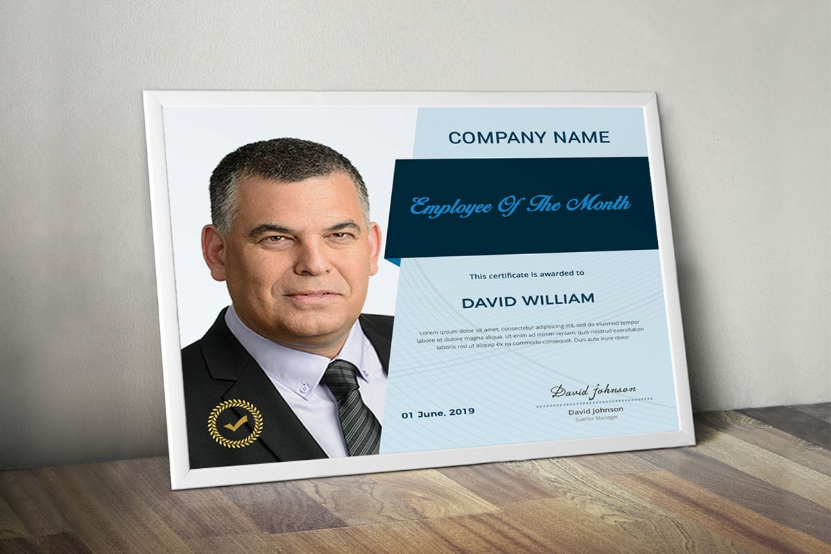 Employee Certificate example image 1