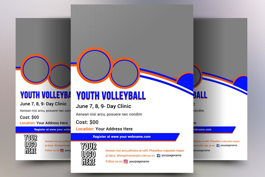 Volleyball Flyer example image 1