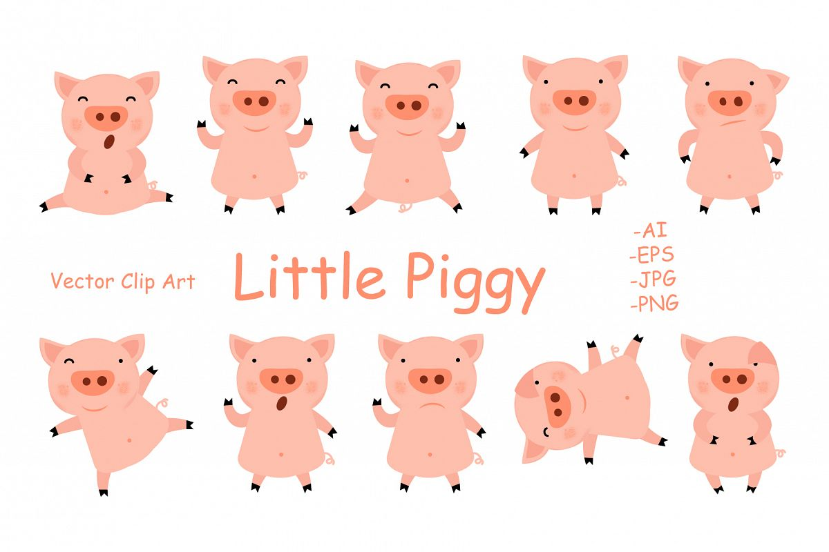 Little Piggy example image 1