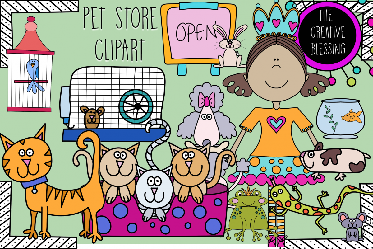 Pet Store Clipart example image 1