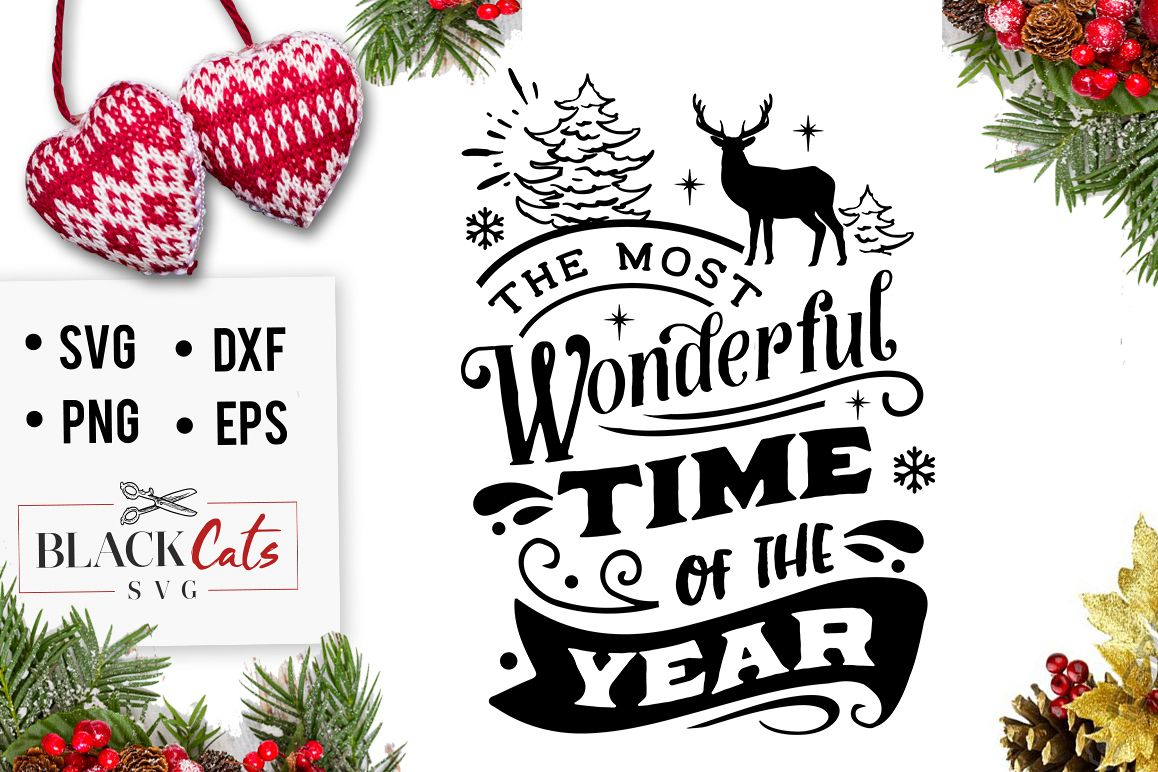 The most wonderful time of the year svg example image 1