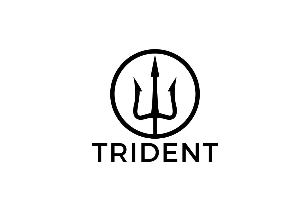 Magic trident logo design. example image 1