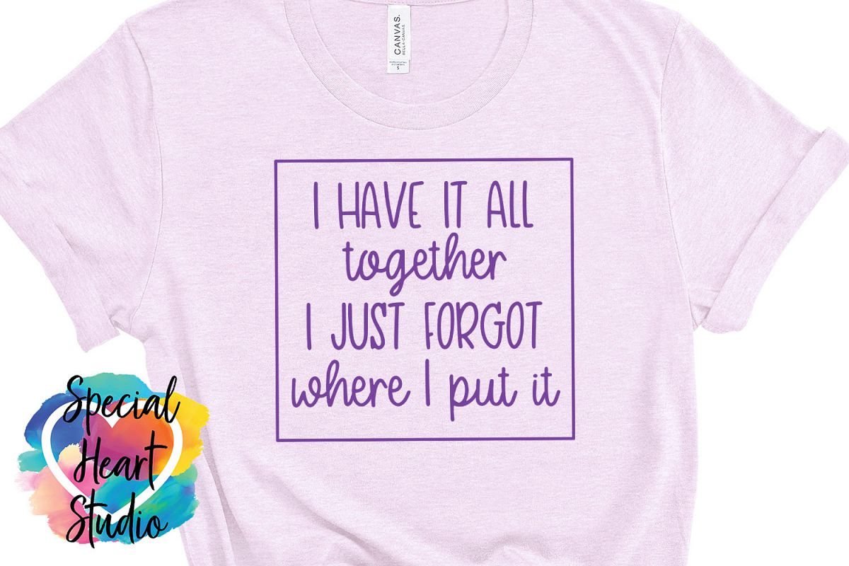 I have it all together - A funny SVG example image 1
