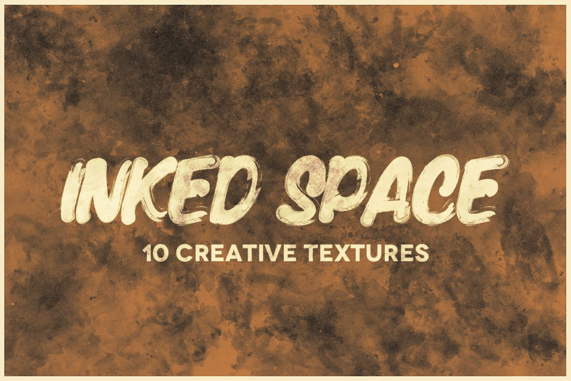 Inked Space (10 Creative Textures) example image 1