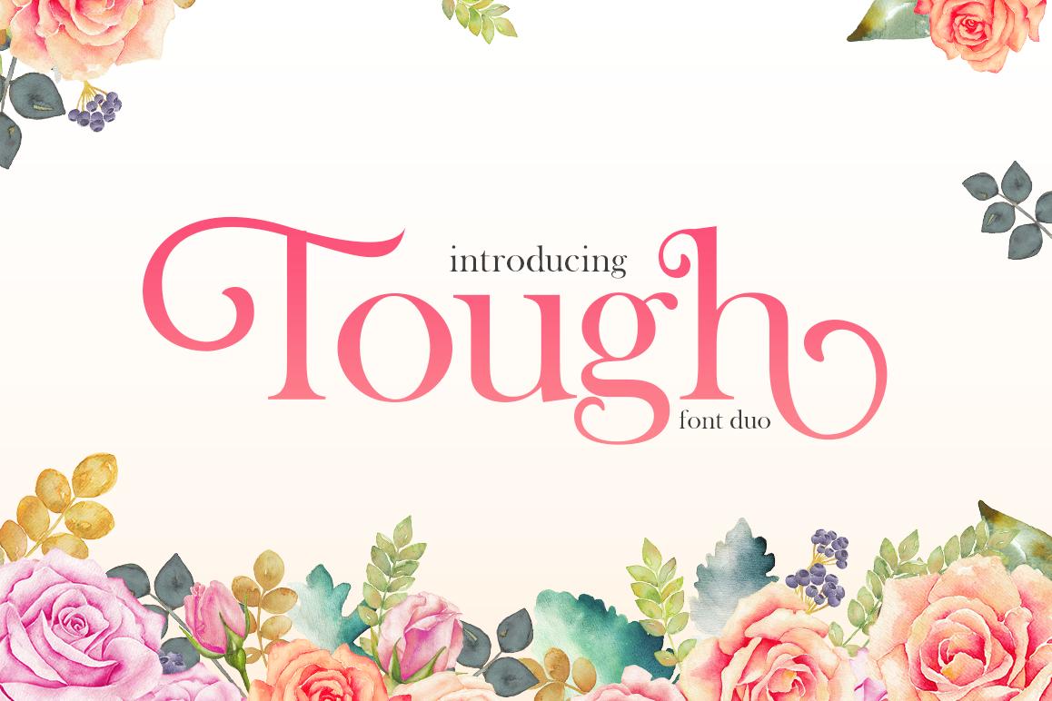 Tough Serif Font example image 1