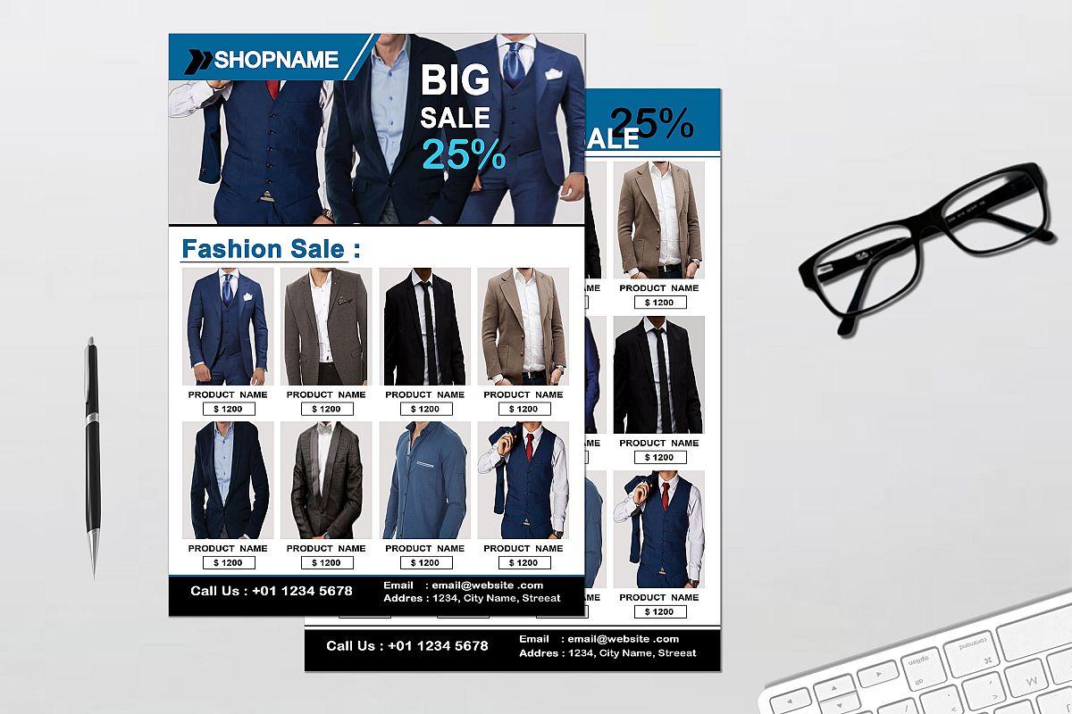 Flyer - Fashion example image 1
