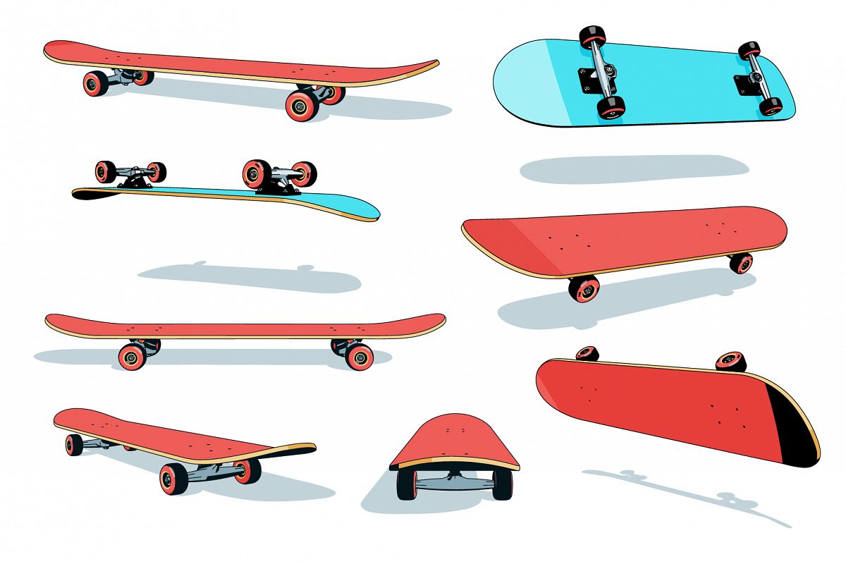 Skateboard Pack example image 1