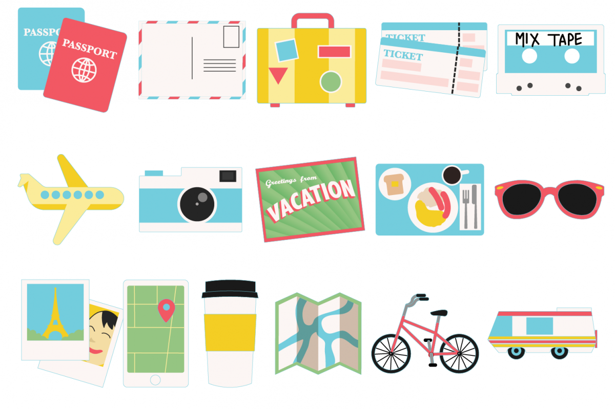 Travel Icons example image 1