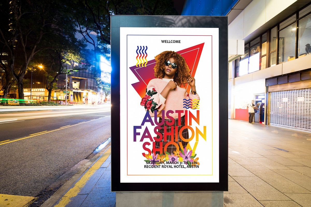 Fashion Show Flyer example image 1