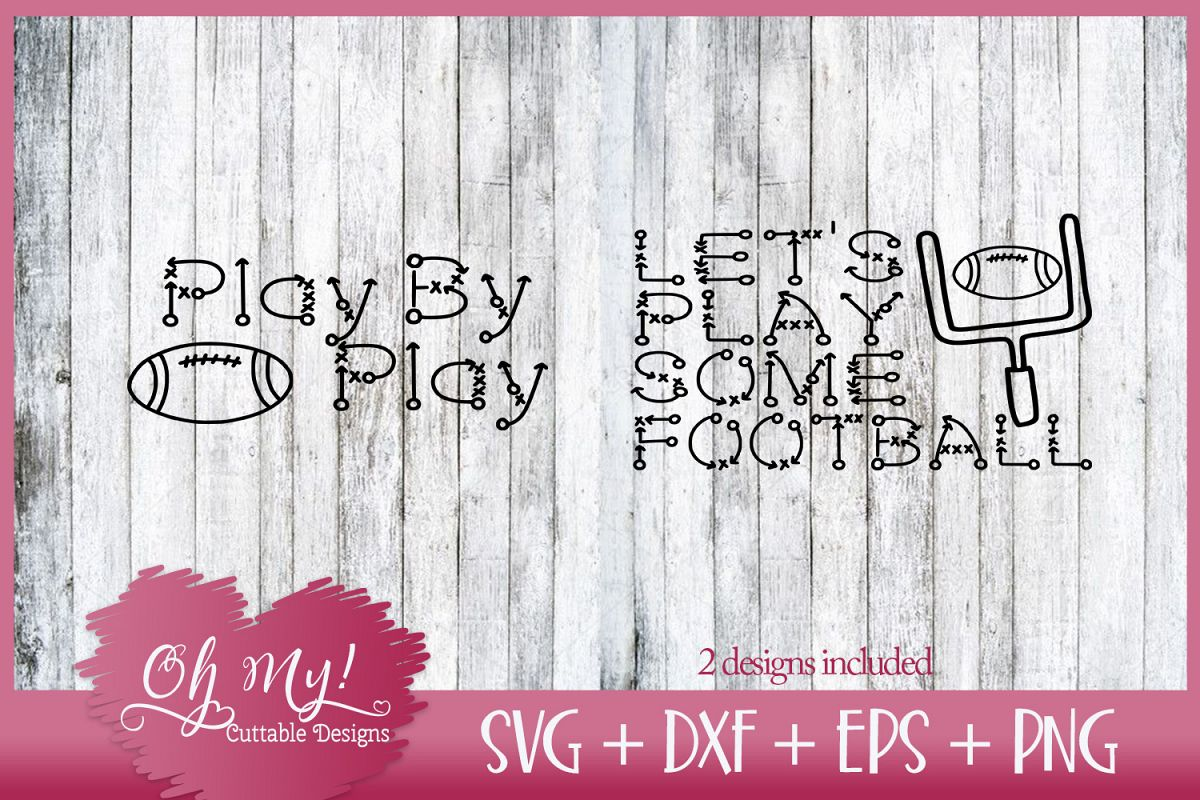 Play Football - SVG DXF EPS PNG Cutting File example image 1