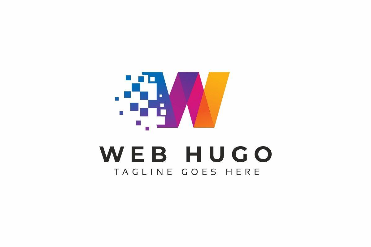 Web Hugo W Letter Logo example image 1