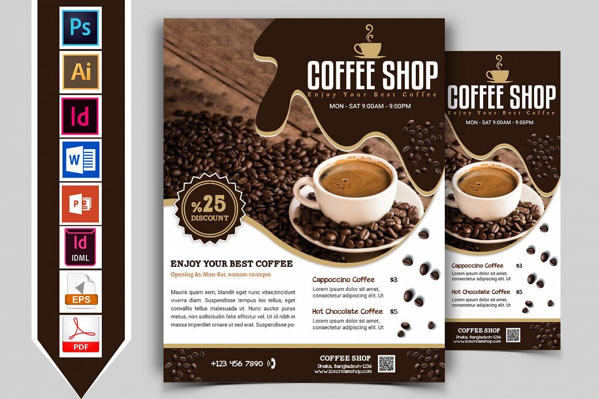 Coffee Shop Flyer Vol-03 example image 1