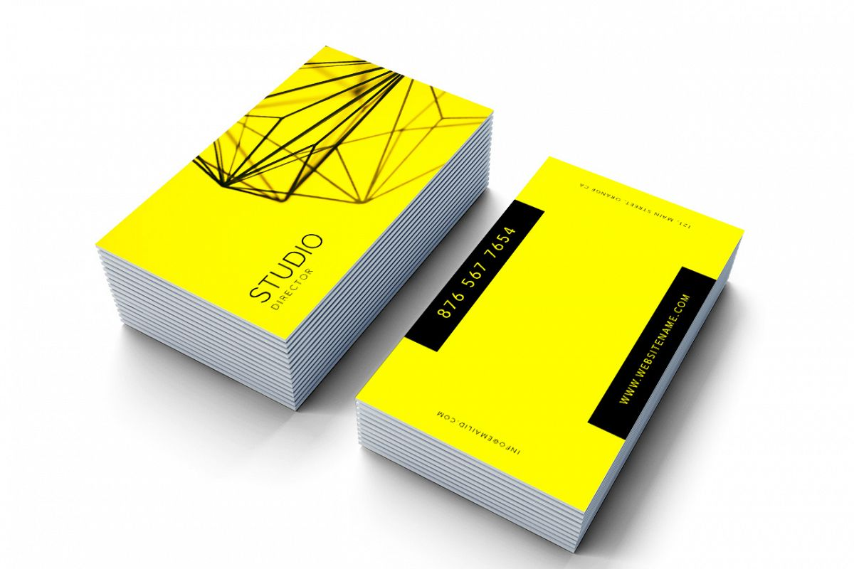 Minimal Professional Business card example image 1
