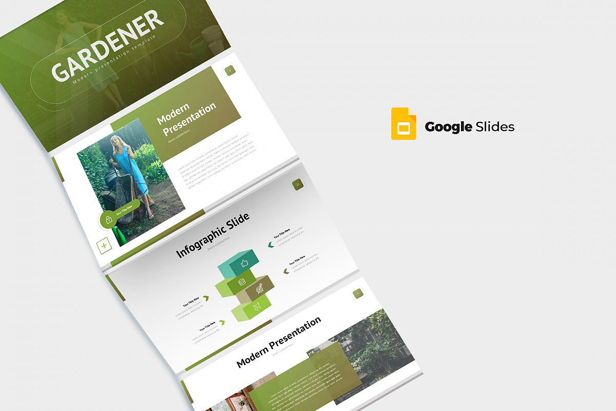 Gardener - Google Slides Template
