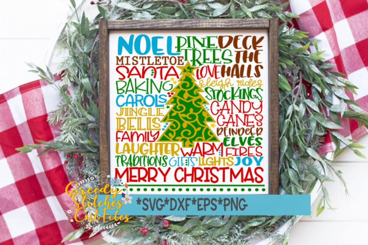 Christmas Subway Art Svg.Christmas Subway Art Svg Christmas Svg