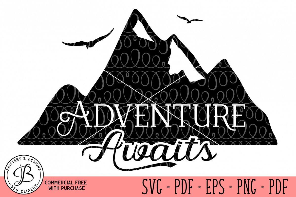 Adventure Awaits SVG  example image 1