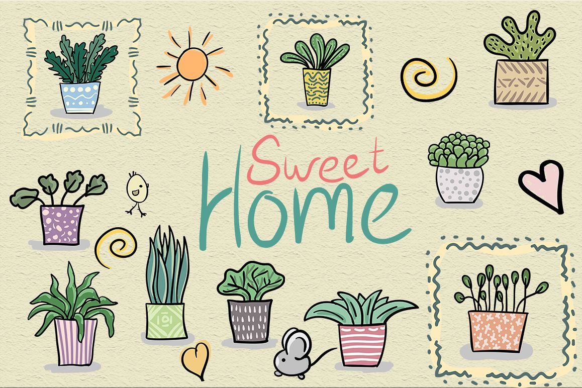 Sweet home set example image 1