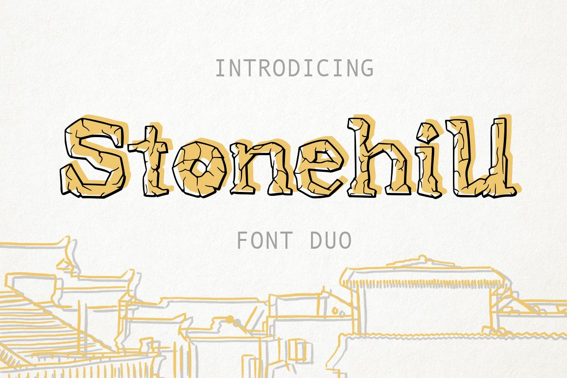 Stonehill Duo Font. example image 1