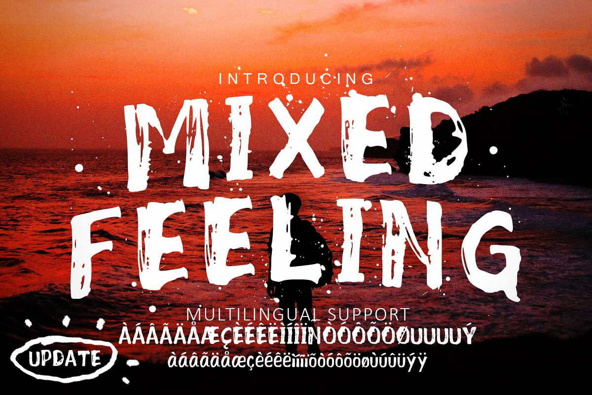 Mixed Feeling Font example image 1