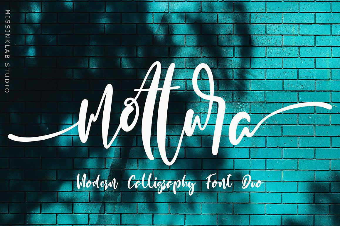 Mottura Font Duo example image 1
